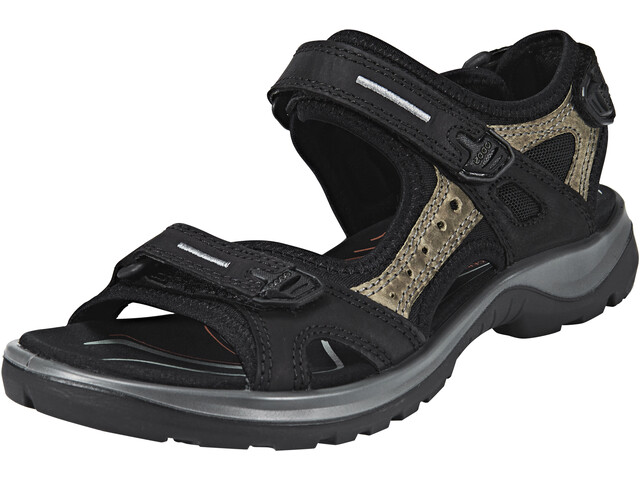 ECCO Offroad Sandals Damen black/mole/black